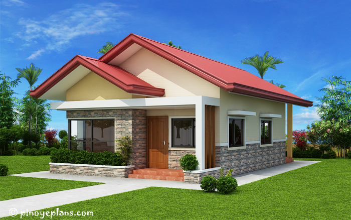 Single storey 3 bedroom house plan pinoy eplans for 3 bedroom bungalow house plans philippines