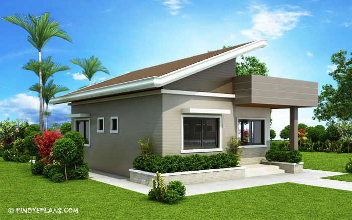 Two Bedroom Small House Design Shd 2017030 Pinoy Eplans