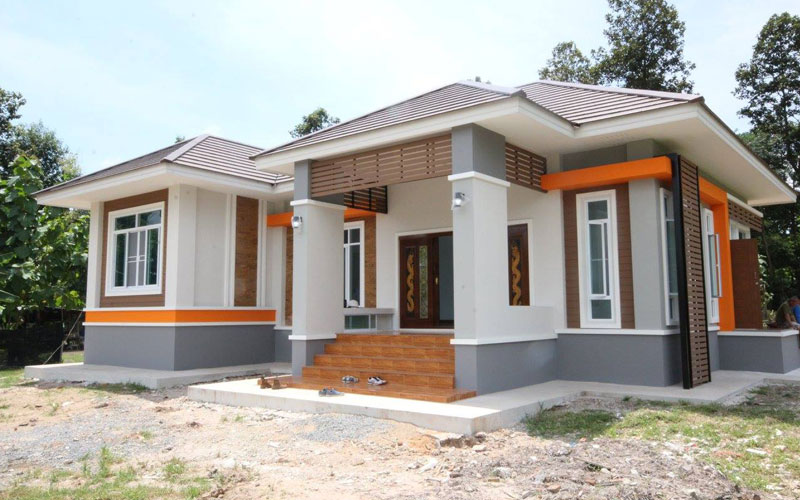Review elevated 3 bedroom thai house design pinoy eplans for Free thai house plans