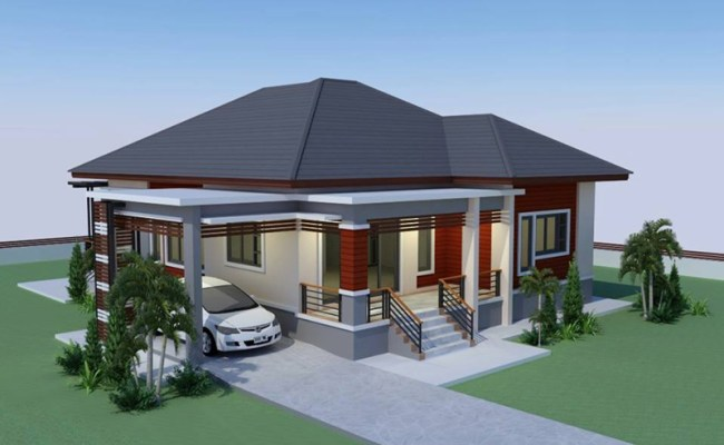 Simple Yet Gorgeous Elevated House Concept Pinoy Eplans