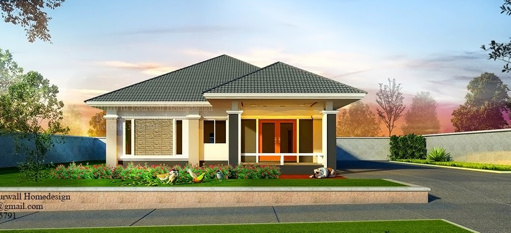 Modern single storey house that you can customise for Modern single story house