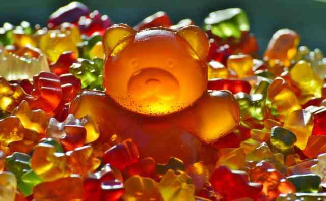 Post-workout glucose from gummy bears