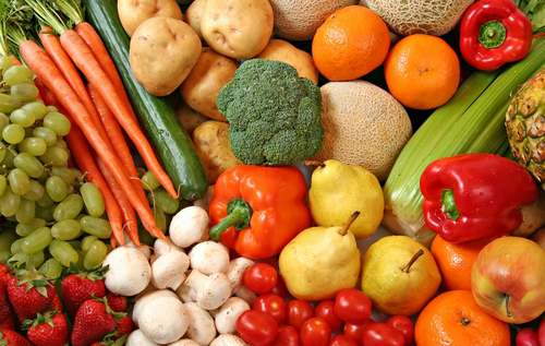 Negative calorie foods, fruits and vegetables