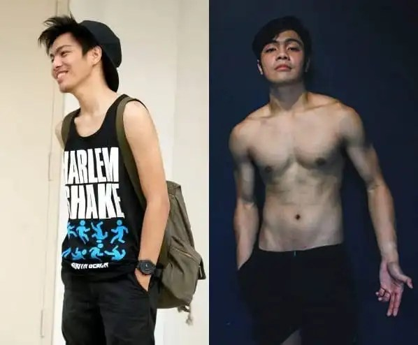 Pinoy Fitspiration Andre Tan before and after