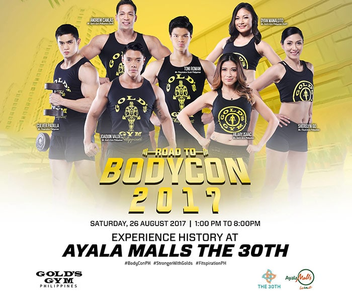 Join The First Gold's Gym #RoadToBodyCon2017