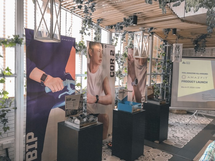 amazfit philippines product event launch pinoy fit buddy smartwatch xiaomi image