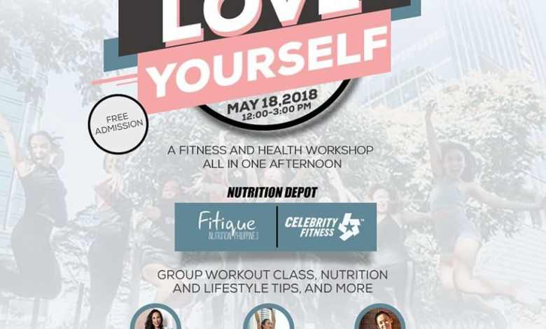 love yourself fitness health workshop free nutrition depot
