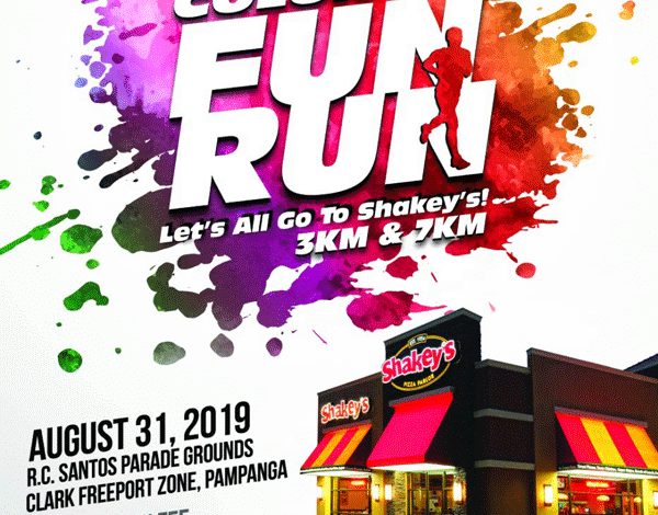 Shakeys Color Fun Run 2019