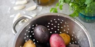 3 Cilantro Chimichurri and Garlic Roasted Potatoes