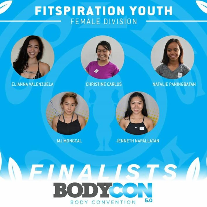 golds gym bodycon 5 finalists fitspiration youth female