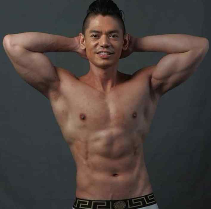 male fitness model philippines century superbods 2020 gian ruiz