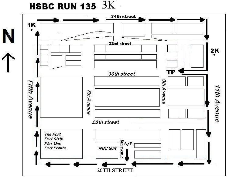 HSBC 135 RUN 3K MAP