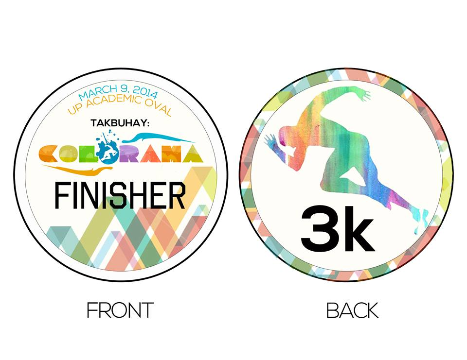 colorama-a-color-fun-run-medal-3K