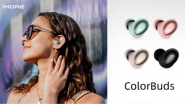 1MORE ColorBuds True Wireless In-ear Headphones
