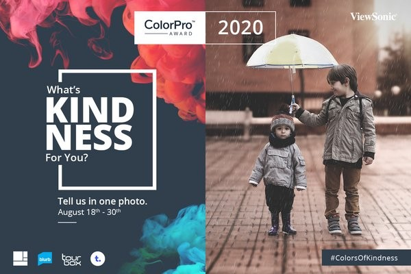 "The theme of ColorPro Award Global Photography Contest is ""kindness,"" and everyone is welcome to submit photos from August 18 to 30 to demonstrate what kindness means to them."