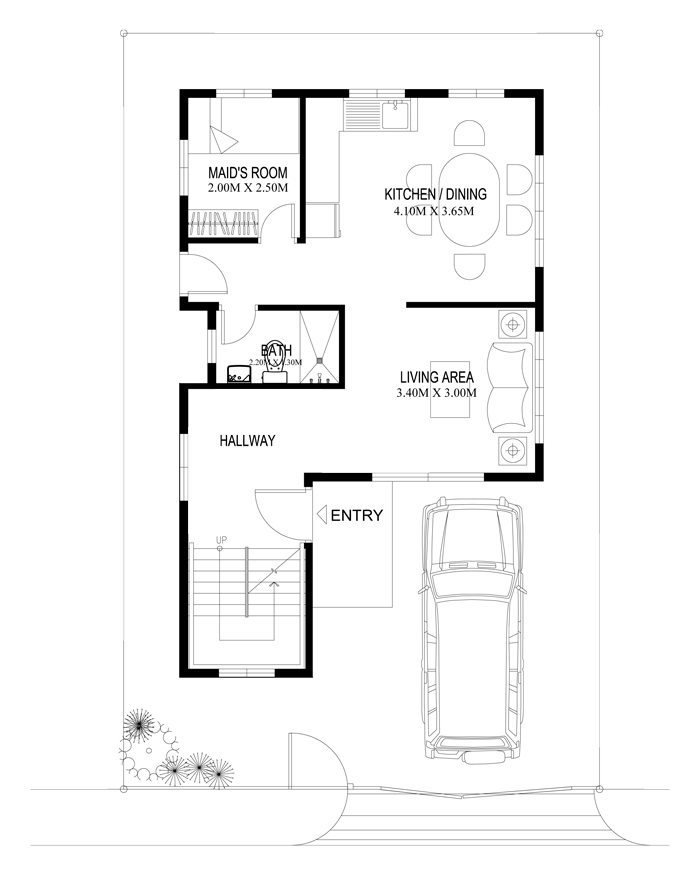 4 bedroom 2 story house plans philippines for 4 bedroom house plans philippines