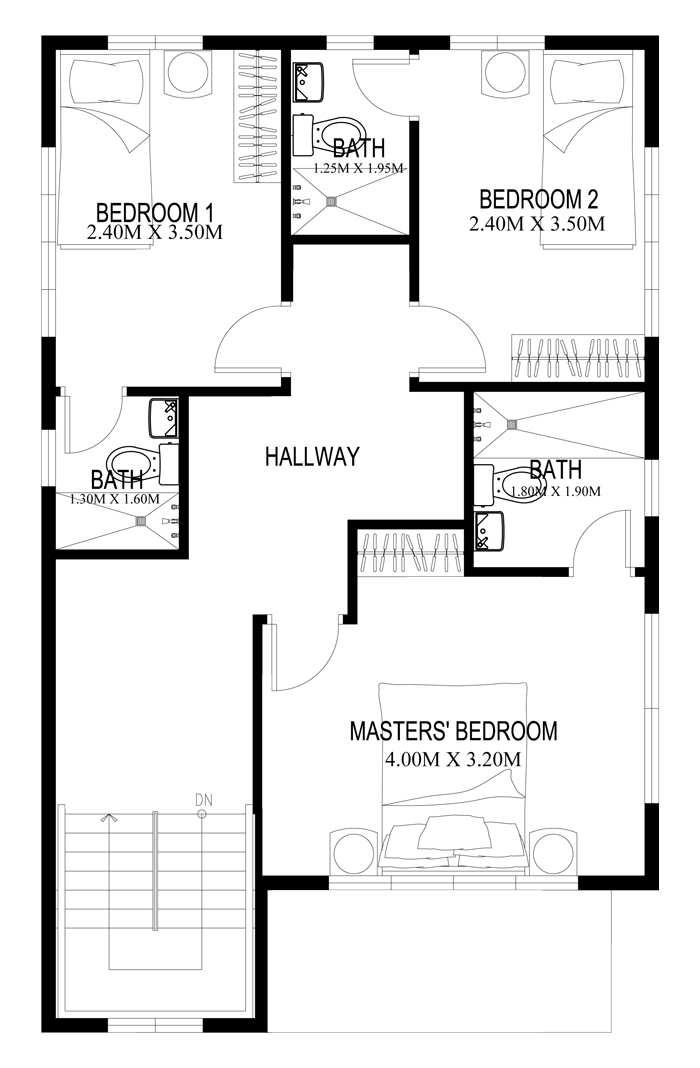 Two Story House Plans Series: PHP