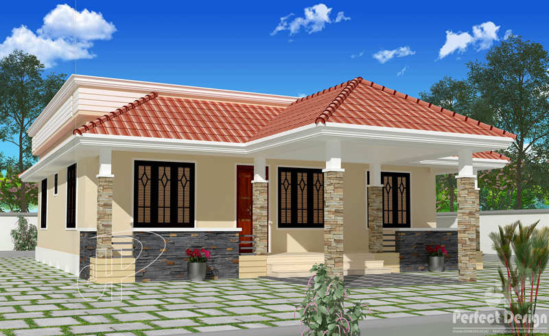 Beautiful Single Floor House With Roof Deck Pinoy House