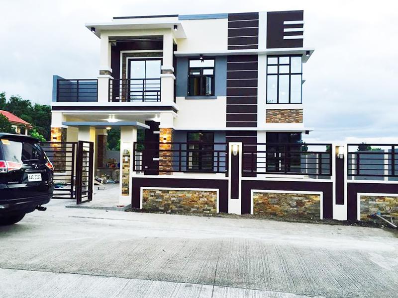 Minimalist 2 Storey House 1 Pinoy House Plans