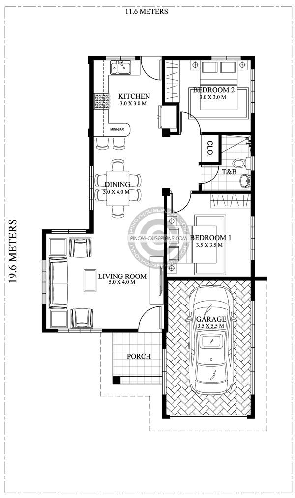 Joshua  Grand Elegant Facade  Pinoy House Plans