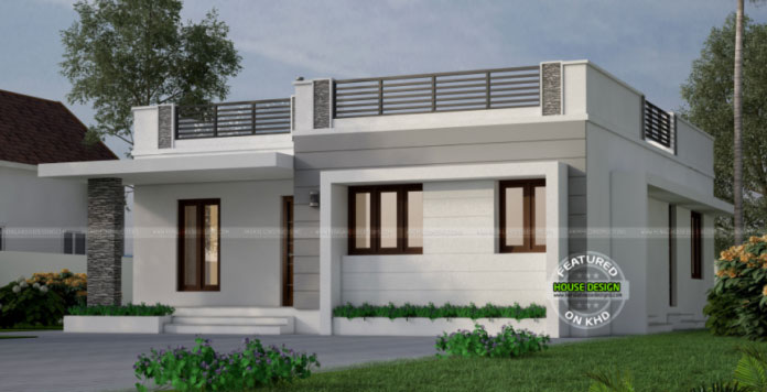 One Storey With Roof Deck Indian House Concept Pinoy