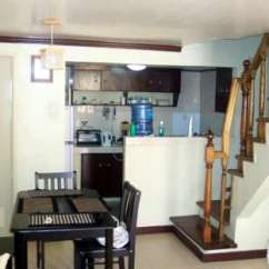 Chocolate Kitchen Cabinets Sink Drain 1.75m House And Lot (fully Furnished) - For Sale ...