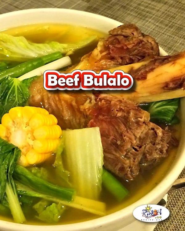 Filipino Beef Bone Soup Recipe