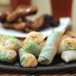 Thai Tuna Fresh Spring Rolls