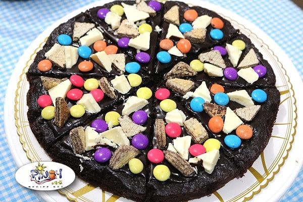Brownie Pizza Recipe