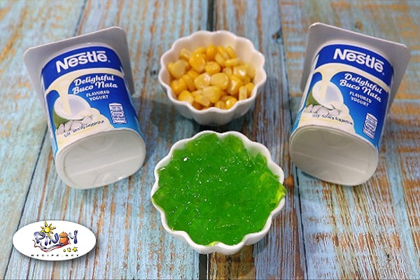 Buco Pandan Yogurt Popsicle Ingredients