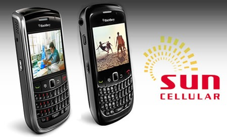BlackBerry on Sun Cellular