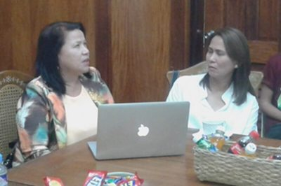 Atikha and Tarlac Provincial Governor discuss the  ladderized  program and intervention for OFW and their Families