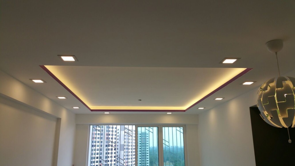 Island Ceilings  False Ceilings  L Box  Partitions  Lighting Holders