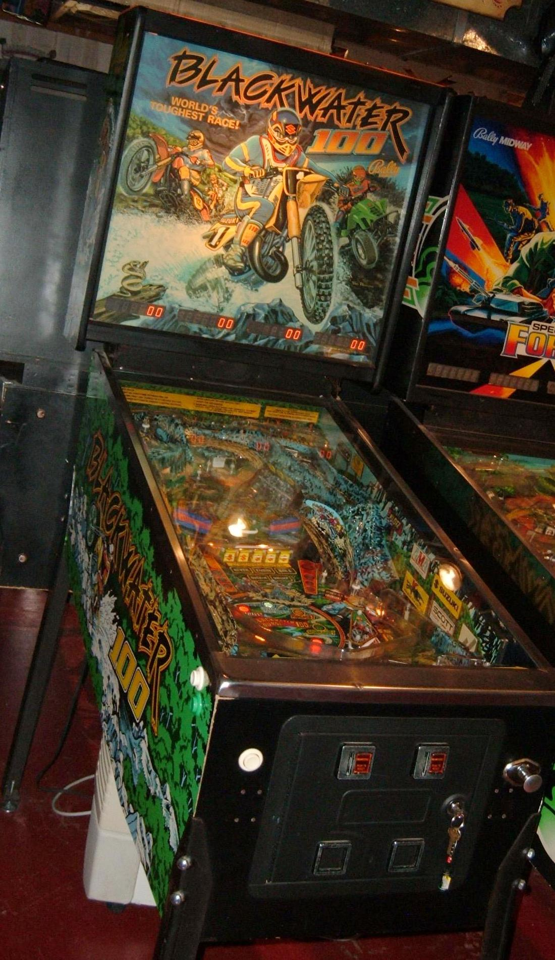 Bally Blackwater 100 Pinball Machine Collector Buying