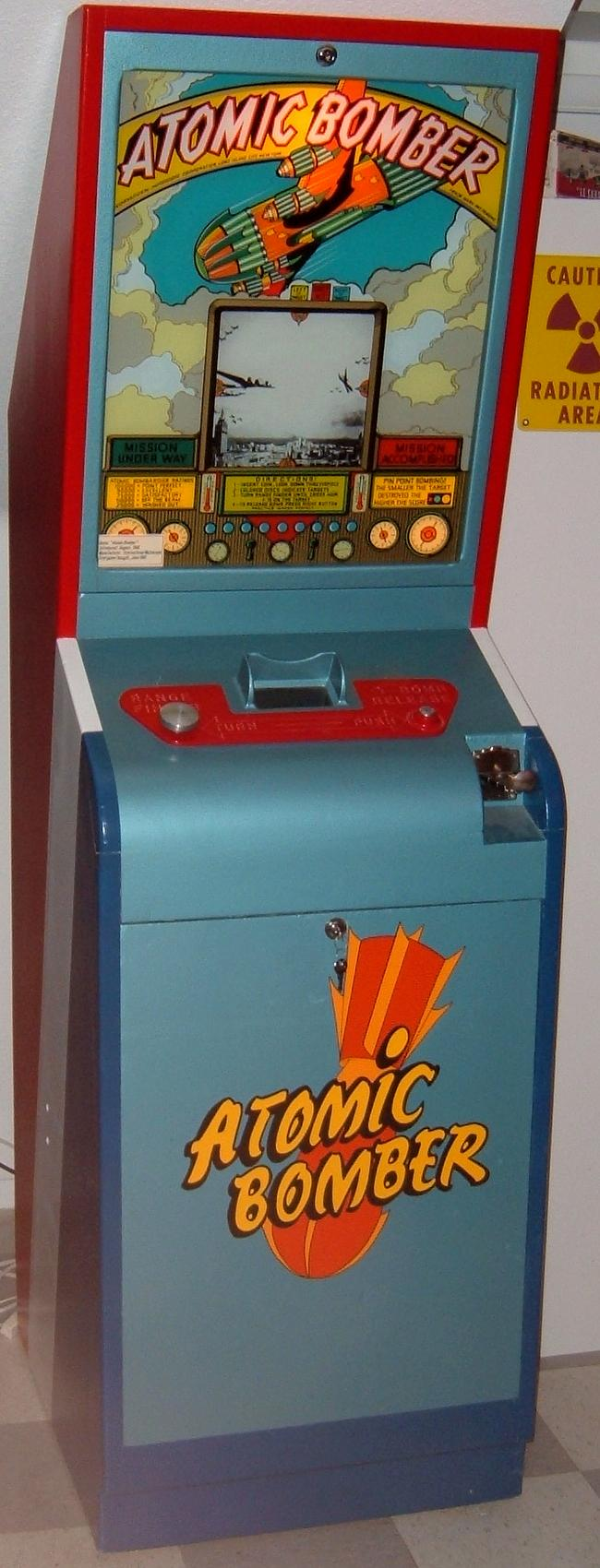 Mutoscope Atomic Bomber 1946 coin operated arcade game