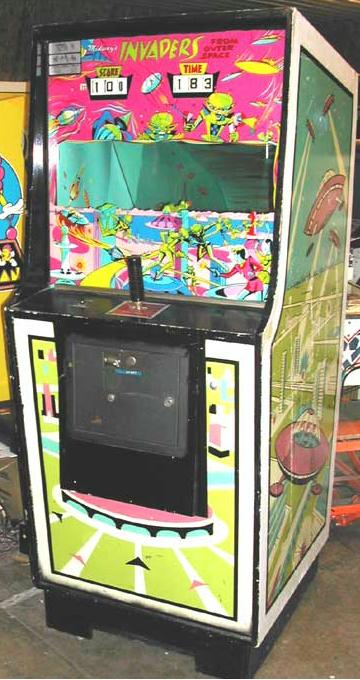 Midway Invaders from Outer Space 1970 coin operated arcade