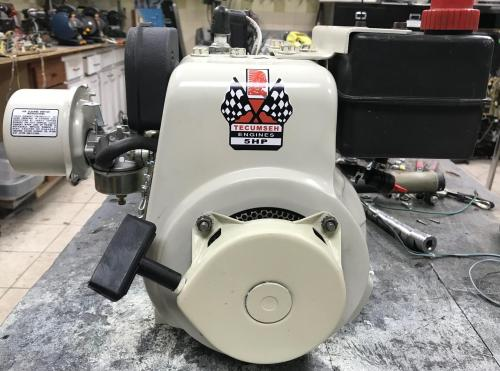 small resolution of or if you prefer in black a minibike ready tecumseh hs50 this particular motor came off a 1970s arien snowblower
