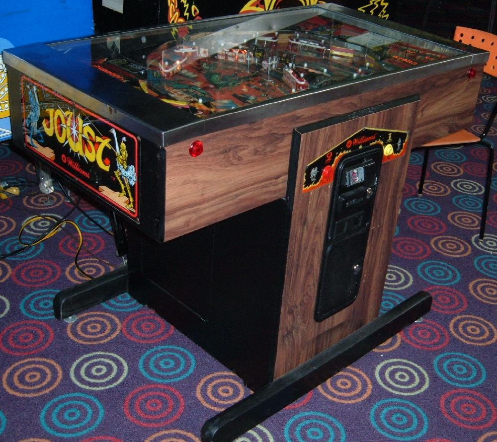 Williams Joust pinball  collector buying