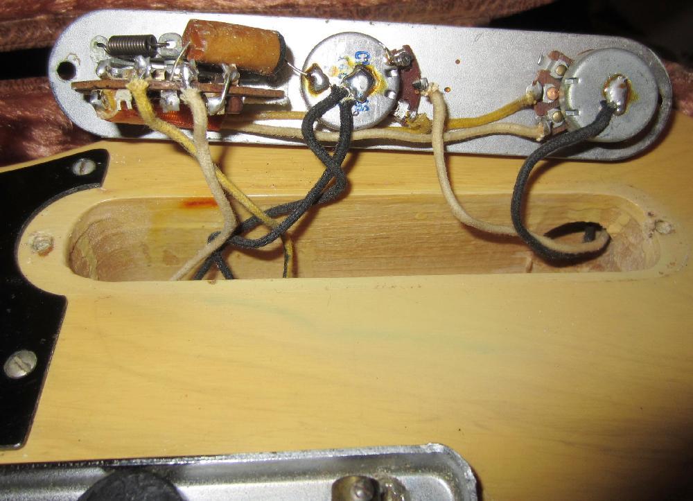 fender telecaster wiring diagram mercury smartcraft gauges 1952 1953 tele guitar 52 53 collector vintage