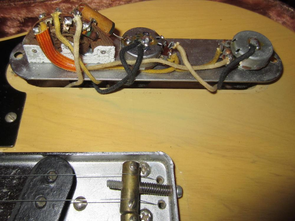 fender telecaster wiring diagram three way switch 3 1952 1953 tele guitar 52 53 collector vintage