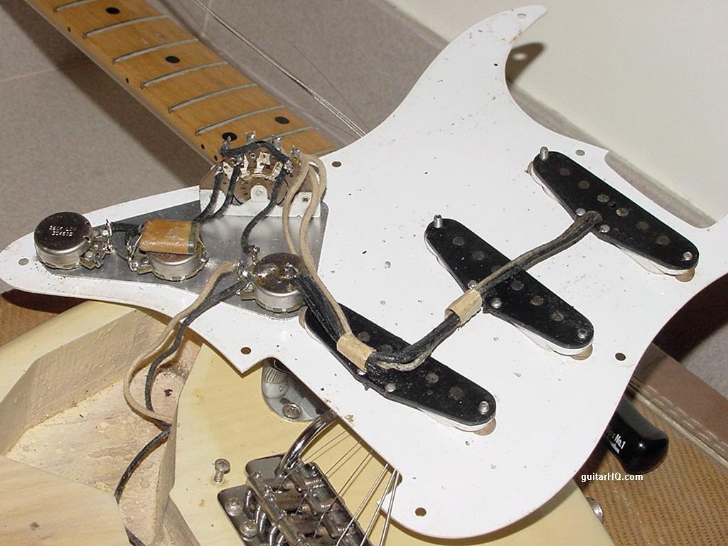 Fender Strat Output Jack Wiring Stratocaster