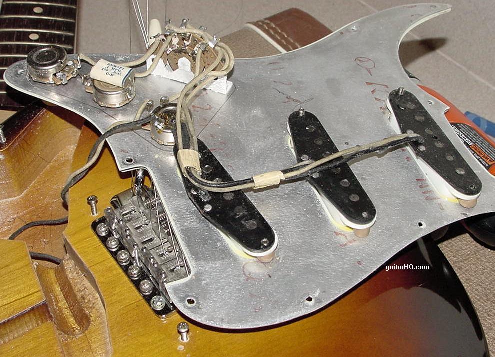 Guitar Wiring Tone Cap