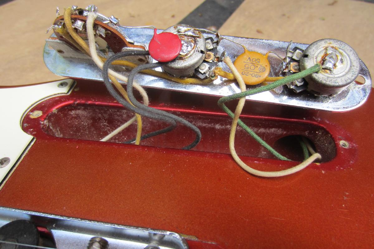 3 Way Guitar Switch Wiring Diagram 1959 Fender Telecaster Guitar 1960 Fender Tele Custom