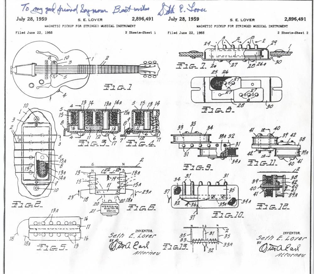 medium resolution of seth lover interview 1978 vintage gibson paf humbucking humbucker seth lover pickup wiring diagram