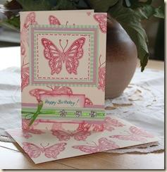 Karte Butterfly I