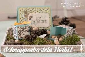 Schnupperbasteln im Herbst @ Crafts Kitchen | Hamburg | Hamburg | Deutschland
