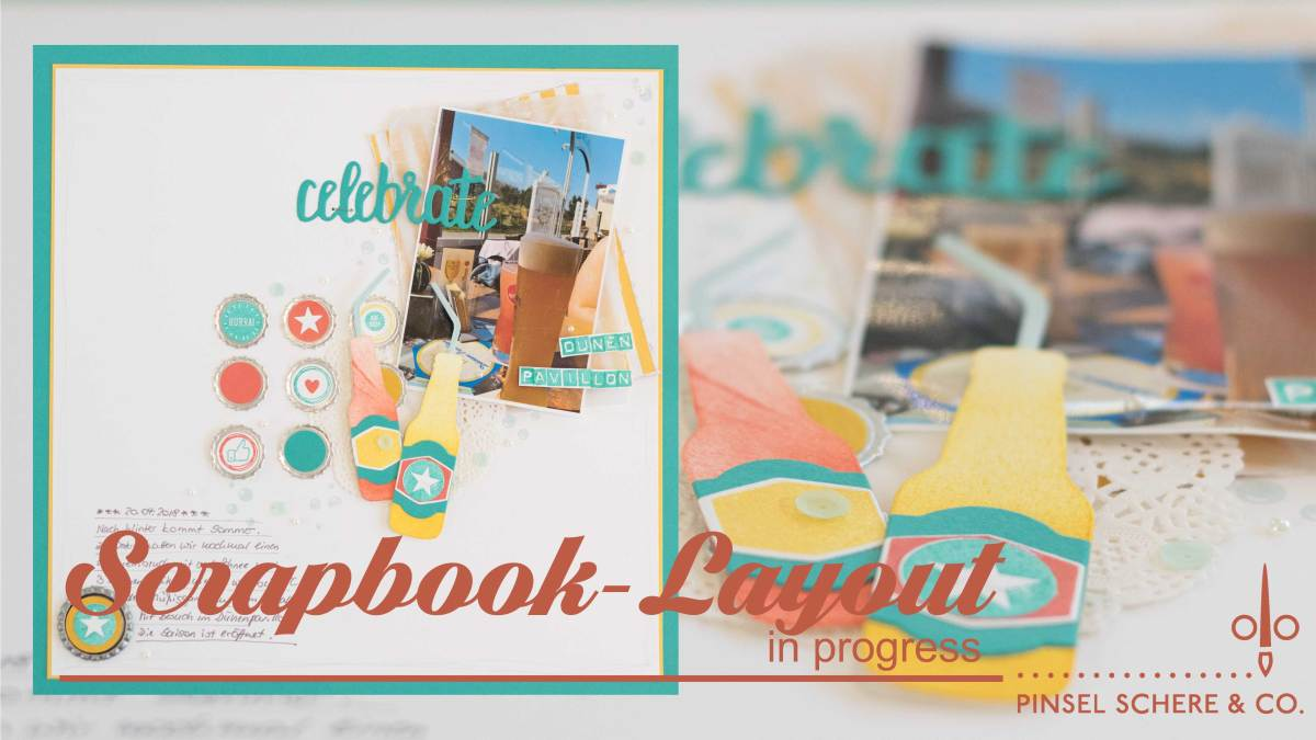 Scrapbooking in progress - mal eben so