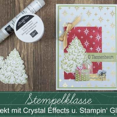 Stempelklasse #47 – Frosteffekte für Winterkarten