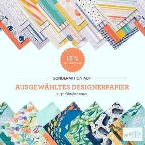 Designerpapieraktion Oktober
