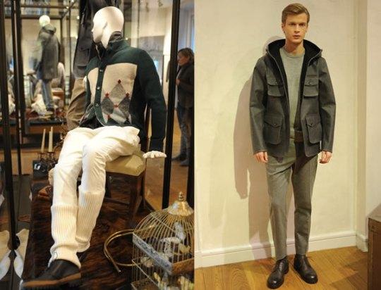 Ballantine Menswear Fall 2012 Fashion Week